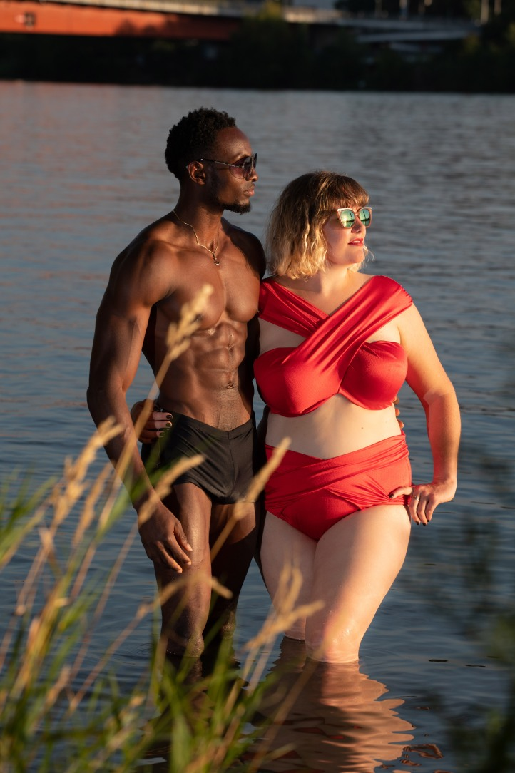 ify&bianca red bikini